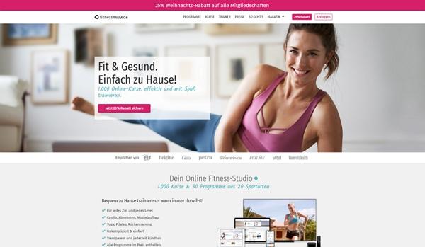 fitnessraum homepage