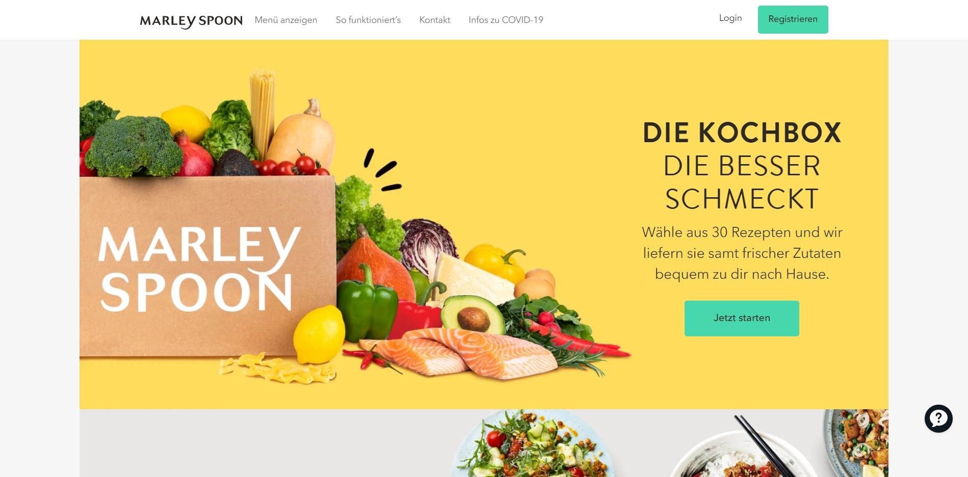 marley-spoon-website