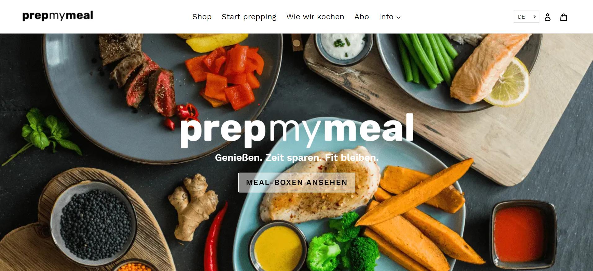 prepmymeal-website
