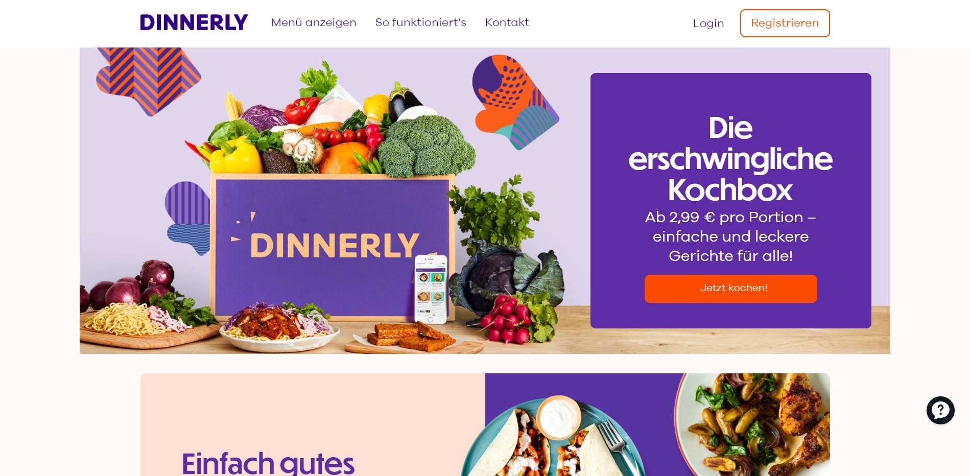 dinnerly-website